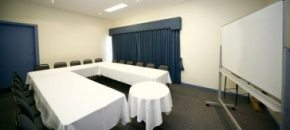the South Melbourne hotels small conference room